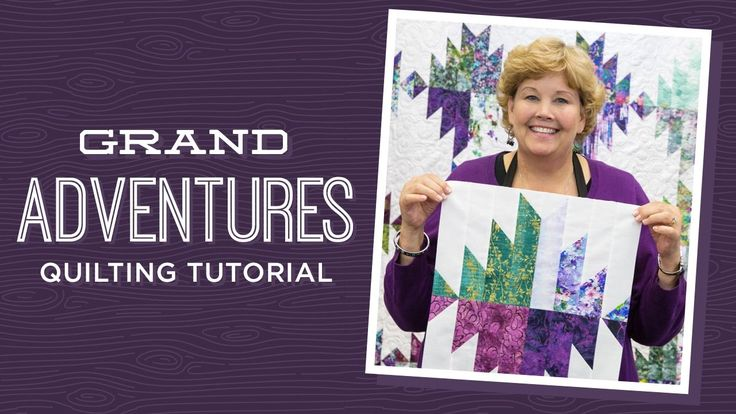 Make a Grand Adventures Quilt with Jenny! - YouTube