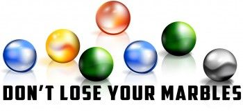 Don't Lose Your Marbles Relay Game