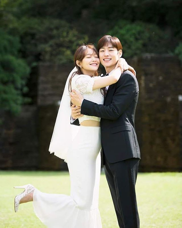 "15 Likes, 2 Comments - Shin Min Ah (@illuso.mina) on Instagram: """"Tomorrow with you"" The Wedding Shin Min Ah & Lee Je Hoon ❤ #tomorrowwithyou #shinminah #shinmina…"""