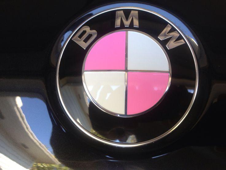 BMW X5 Pink Roundel.