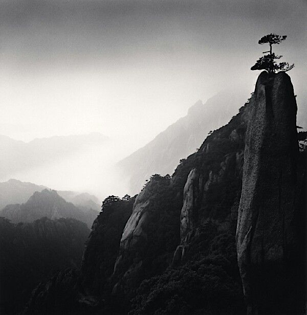 Ink stick photo,  Michael Kenna