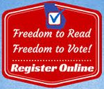 Register to Vote Georgia! To use the Online Voter Registration System you must have a valid driver's license or identification card issued by GA Department of Driver Services (DDS) with signature on file with DDS. If you do not have a valid driver's license or identification card, a link on their website will allow you to manually submit a paper registration. Visit www.conyersrockdalelibrary.org and click on the icon located @ the bottom of our page.