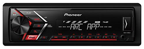 Pioneer s100ui Auto Radio USB, RDS sintonizador, 1/2DIN con entrada auxiliar y USB, control directo de iPod/iPhone mediante USB, sintonizador auto MP3, 4x 50W Negro #Pioneer #Auto #Radio #USB, #sintonizador, #/DIN #entrada #auxiliar #control #directo #iPod/iPhone #mediante #sintonizador #auto #Negro