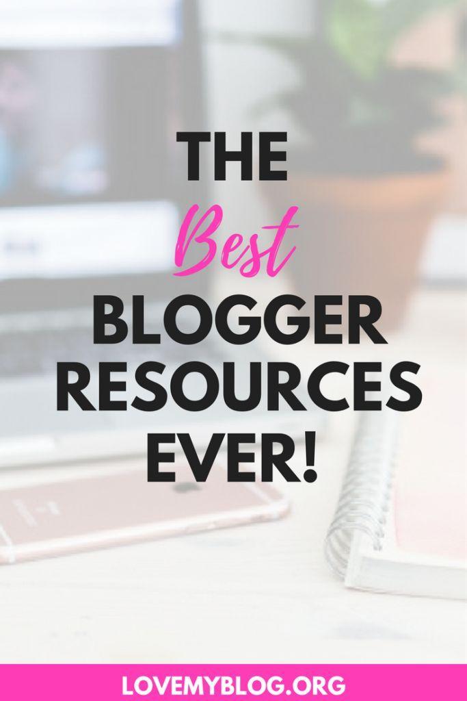RESOURCES - Love My Blog