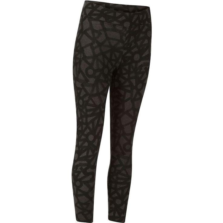 Pantaloni Abbigliamento - Leggings 7/8 donna FIT+ neri DOMYOS - Parte bassa