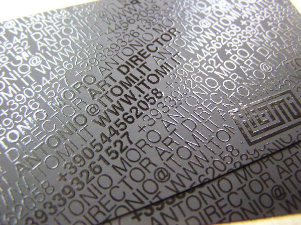 50 Designs de Cartes de Visites de Directeurs Artistiques, Photographes, Webdesigners | Blog du Webdesign