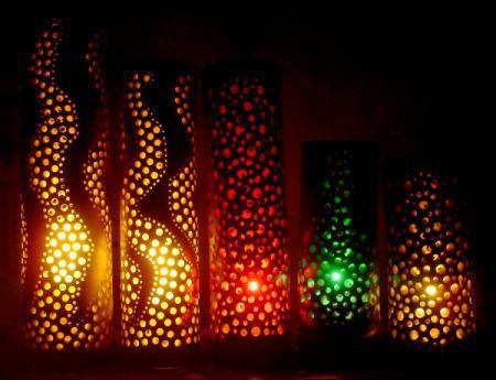 ...TUBOS DE PVC: Lamps, Orginization Decor, Ideas, Tube, Bambu Lamps, De Pvc, To Appear, Lamp, Pvc Lamps