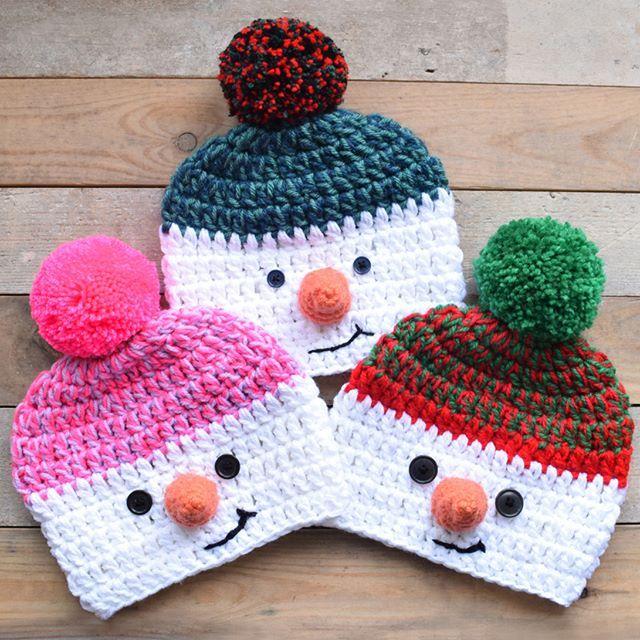 Lil' snowboy and girl beanies  https://www.etsy.com/uk/listing/551278392