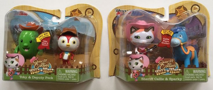 Disney Sheriff Callie fans will love playing with their favorite characters from the hit Disney Junior TV show. Sheriff Callie, Sparky, Deputy Peck and Toby are ready for action in the Wild West! Characters : Sheriff Callie, Sparky, Deputy Peck, Toby. | eBay!