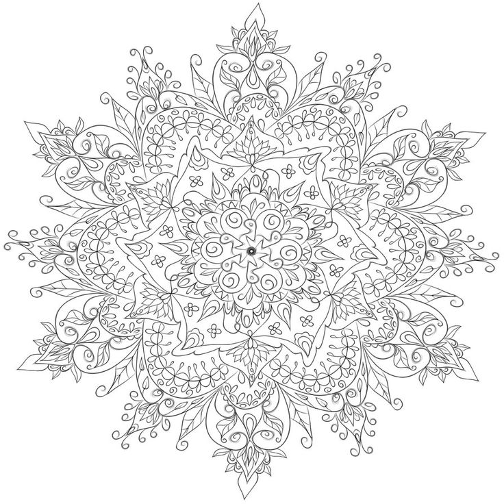 Krita Mandala 3 by WelshPixie on DeviantArt