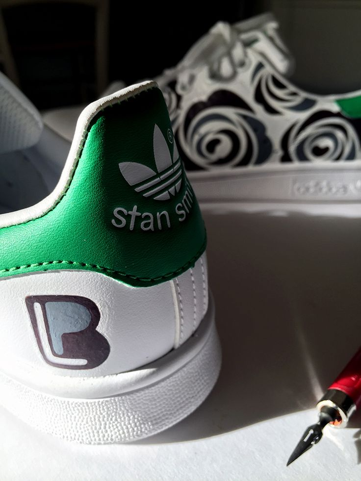 Stan Smith, Nice Clothes, Custom Design, Sneaker, Adidas, Calligraphy,  Bespoke Design, Cute Clothes, Slippers