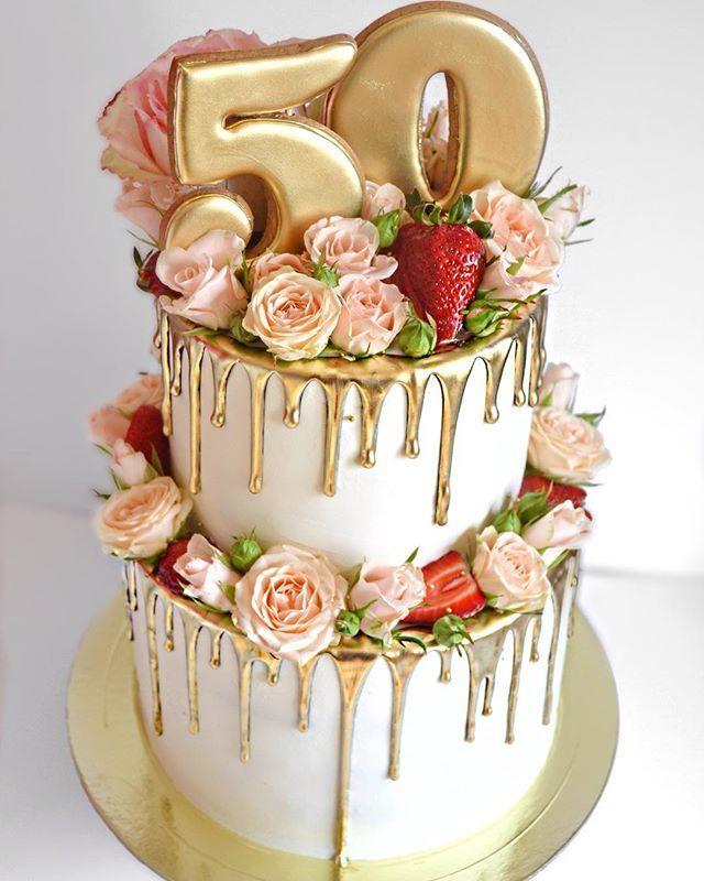 Krasavchik Na 6 5kg Birthday Cake Id 50th Birthday Cake For Women 50th Birthday Cake Birthday Cakes For Women