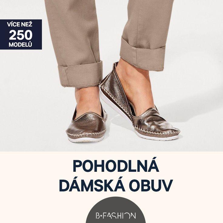 VÍCE NEŽ 250 MODELŮ POHODLNÁ DÁMSKÁ OBUV NAKUPUJTE TEĎ: 🌺 https://cz.bfashion.com/comfortable-shoes 🌺 Akce platí do 09:00 h. dne 7.04.2017