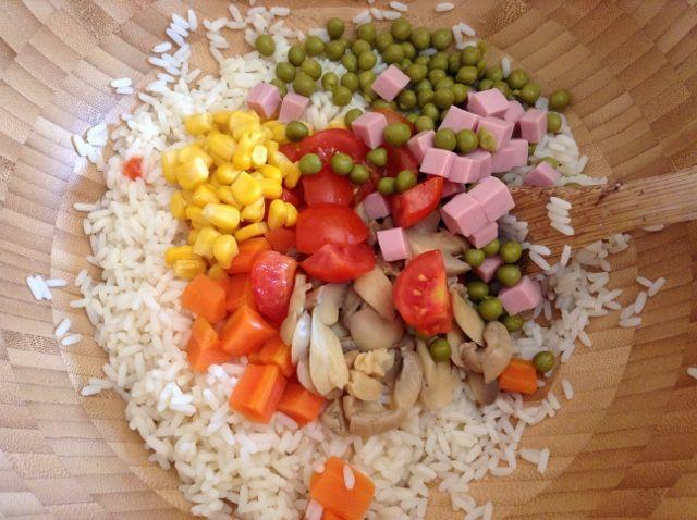 Insalata di riso light (leggera)