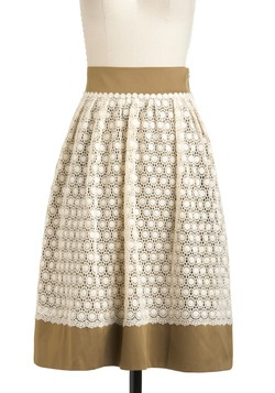 Landmarks the Spot Skirt, #ModClothClothing Pattern, Landmarks, Diy Fashion, Colors Skirts, Spots Skirts, Modcloth, Add Lace, Pretty Skirts, Pink Martinis
