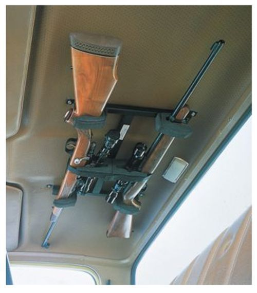 Overhead Gun Rack Truck Cab Storage Fits Pick Ups Protection Hunting Camping #BigSkyRacks
