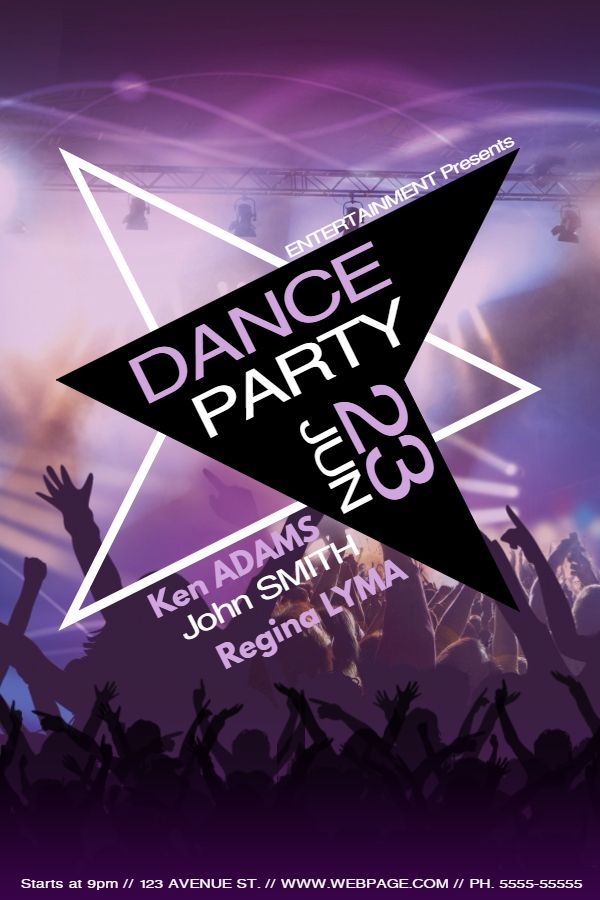 36 best Party and Nightclub Posters images on Pinterest Online - create club flyer online free