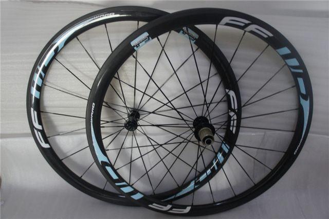 Azul rennrad laufradsatz 700c de carbono rodas 38 mm tubular bicicleta rodas aero