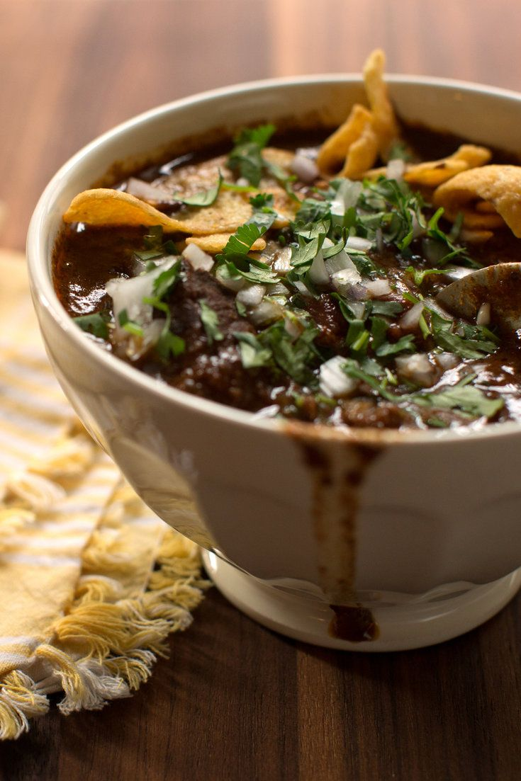 """Calling a dish """"Texas Chili,"""" especially if you're not a native of that state, is clearly asking for trouble. But this recipe of mine, refined over years of potlucks and Super Bowl parties, is too good to keep under wraps any longer. (Photo: Morgan Ione Yeager for The New York Times)"""