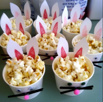 27 best easter popcorn images on pinterest easter bunny bunnies easter bunny cups filled with delicious popcorn yum negle Gallery