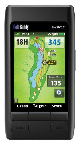Quick and Easy Gift Ideas from the USA  GolfBuddy World GPS Range Finder http://welikedthis.com/golfbuddy-world-gps-range-finder #gifts #giftideas #welikedthisusa