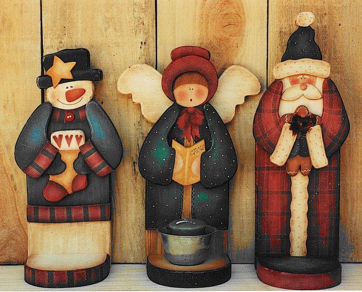 Christmas Votive Holders