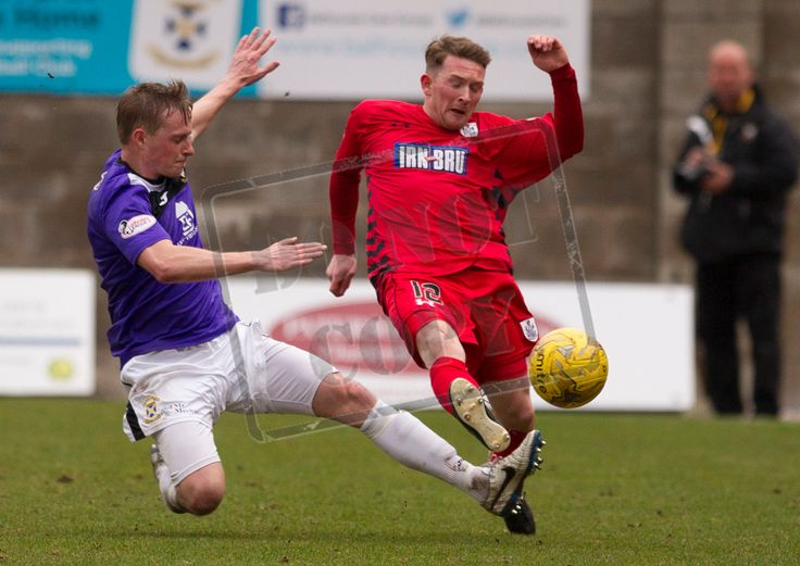 Queen's Park's Joe Bradley on the ball during the SPFL League Two game between Queen's Park and Arbroath