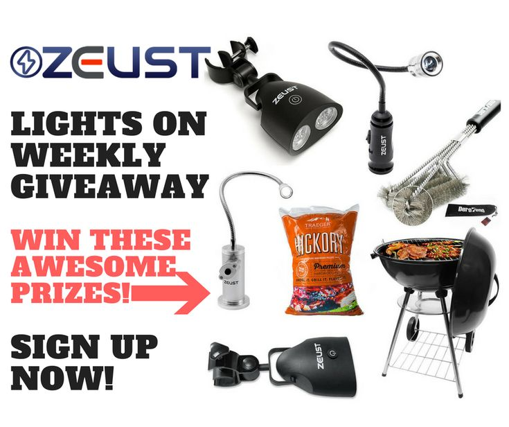 Join the Zeust 'Lights On' Weekly Giveaway - all you have to do is enter your email address ONCE and you're entered in the weekly giveaway from then on out! Get a chance to win awesome prizes each week as well as cool rewards!