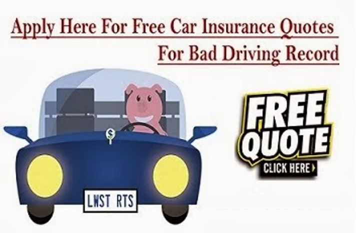Get A Car Insurance Quote Unique 30 Best Car Insurance With Bad Driving Record Images On Pinterest