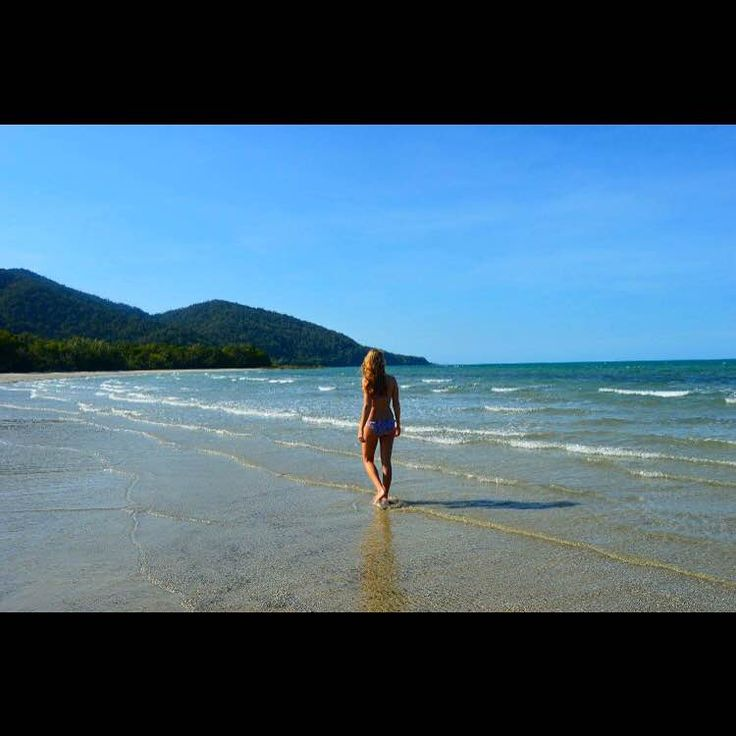 Ever felt like a cast away because you found a beach with little to zero tourists?? That's the feeling you will get when you take a walk on Cape Tribulation, only accessible by driving through the lush Daintree Rainforest National Park a few hours north of Cairns. #Daintree #Cairns #Australia #VisitQueensland #Queensland #travel #beach #CapeTribulation #lifeofabackpacker #explore #backpackerdeals #traveling #travelgram #discoveraustralia #castaway