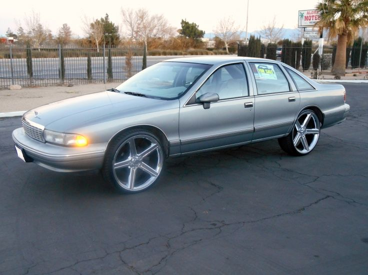 Used 1994 Chevy Caprice 24 Quot Rims Dvd Player Auto