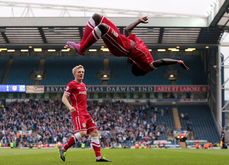 Kenwyne Jones ensured Cardiff City's season started in spectacular style