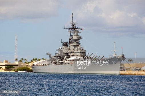 Battleship Missouri located in Pearl Harbor, Hawaii. An Iowa class battleship which is perhaps most famous for hosting the signing ceremony for the Japanese surrender in September 1945, today it is a...