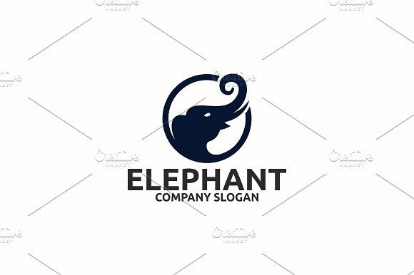 Elephant Templates by Brandlogo in Templates LogosLogo Template FeaturesAI and EPS (Illustrator 10 EPS) 300PPI CMYK by Brandlogo