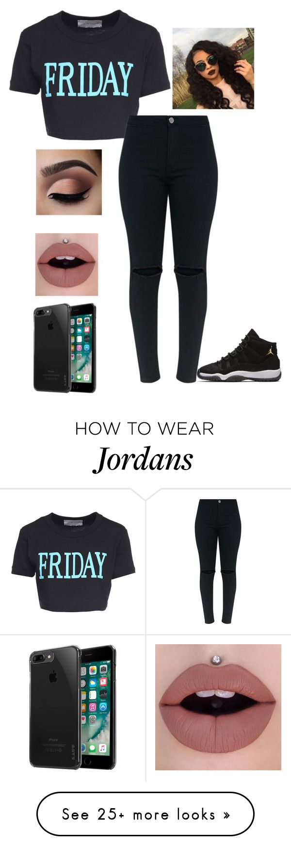 """""""Its Friday"""" by crawfordki123 on Polyvore featuring Alberta Ferretti, NIKE and Laut"""