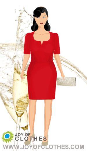 Special ocassion: Dressed in Michaela Jedinaks Anna dress.