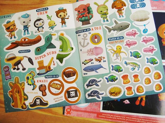 Octonauts cBeebies magazine by MEOMI, via Flickr