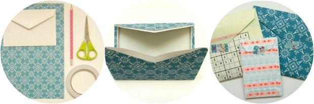 DIY: Je eigen enveloppen maken