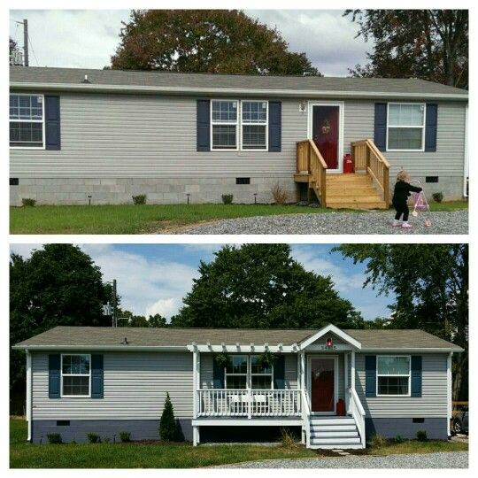 Before and after #manafacturedhome