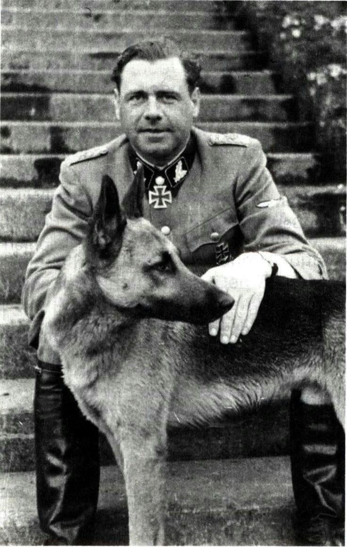 SS-Brigadeführer und Generalmajor der Waffen-SS Fritz Witt who commanded the 12th SS Panzer Division Hitlerjugend in Normandy
