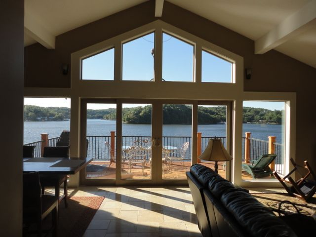 VRBO.com #419921 - Lakefront Home Terrific View, Tile Floors, Granite Kit, Boat Avail