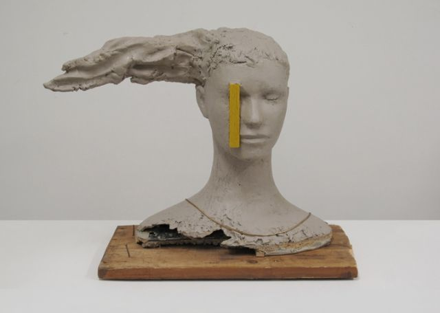 Composition with Yellow Vertical - Works - Mark Manders