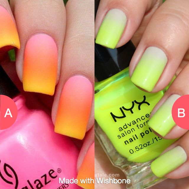 Which ombre? Click here to vote @ http://getwishboneapp.com/share/19330807