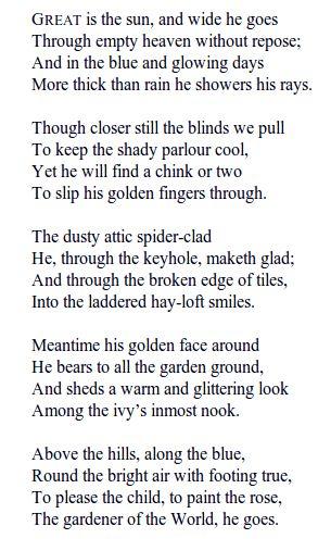 Best 25 Robert Louis Stevenson Poems Ideas On Pinterest