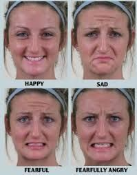Image result for pictures of persons showing different kinds of facial…