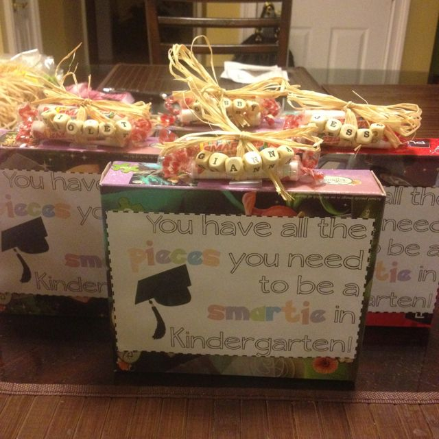 Cute graduation gift for my Pre-K class