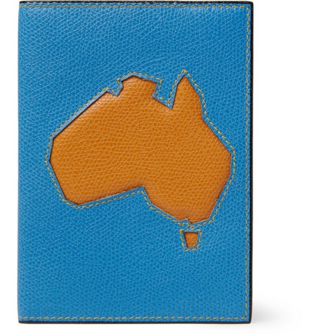 Valextra Australia Textured-Leather Passport Cover | MR PORTER