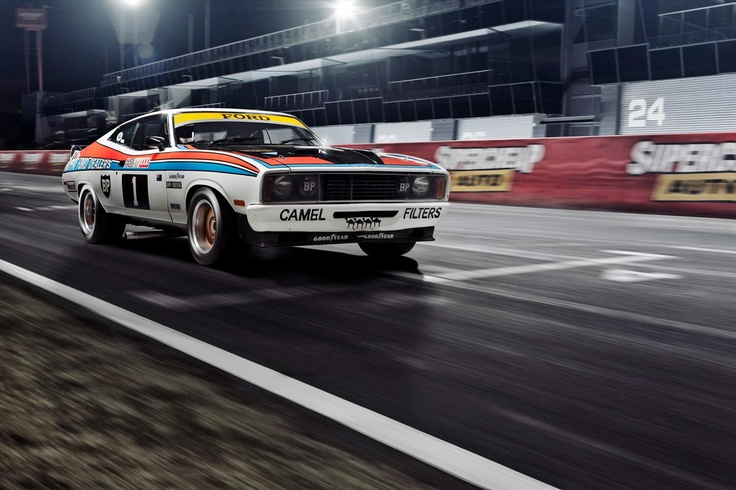 Ford Falcon XC Hardtop Bathurst Winners from 1977    Photo from Chris Benny Imaging; http://chrisbennyimaging.com/blog/