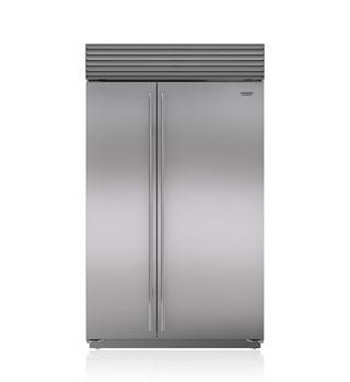 "Sub-Zero 48"" Built-In Side-by-Side Refrigerator/Freezer BI-48S/S/PH Pro Handle  11,035/9,441"