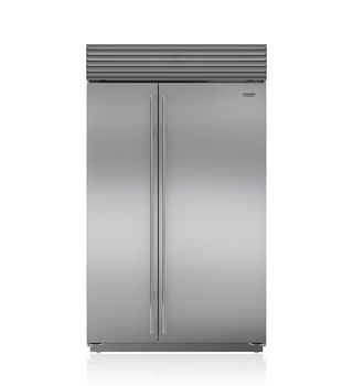 "Sub-Zero 48"" Built-In Side-by-Side Refrigerator/Freezer BI-48S/S/PH Pro Handle  11,035/9,441"